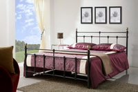 Atlas Metal Bed Frame In Black