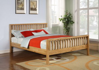 Balmoral Solid Oak Bed