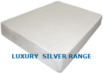 3 or 4 inches of 60kg/m3 memory foam