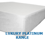 1 inch OF super luxury top layer + 3 inches of 80 kg/m3 middle layer Total memory foam depth 4 INCHES!!!